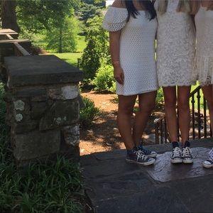 MISA Los Angeles Dresses - MISA Los Angeles white off shoulder dress